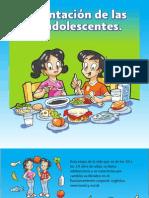 8 1 Alimentacion Las Los Adolescentes