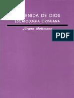 Moltmann, Jurgen - La Venida de Dios[1]