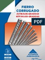 Fierro Corrugado NTP 341.031- Grado 60