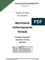 Física - Relatório de Prática de Laboratório 3.docx