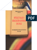 Intelectuales y Educación Superior en Chile, 1810-2001 - 2ª ed