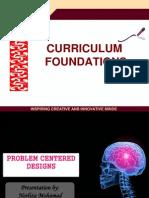 Problem Centered Curriculum