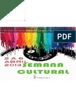 Semanacultural2013 Programa