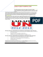 TIPS MENGERJAKAN UJIAN NASIONAL 2013.docx