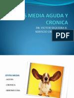 Otitis Media Aguda y Cronica