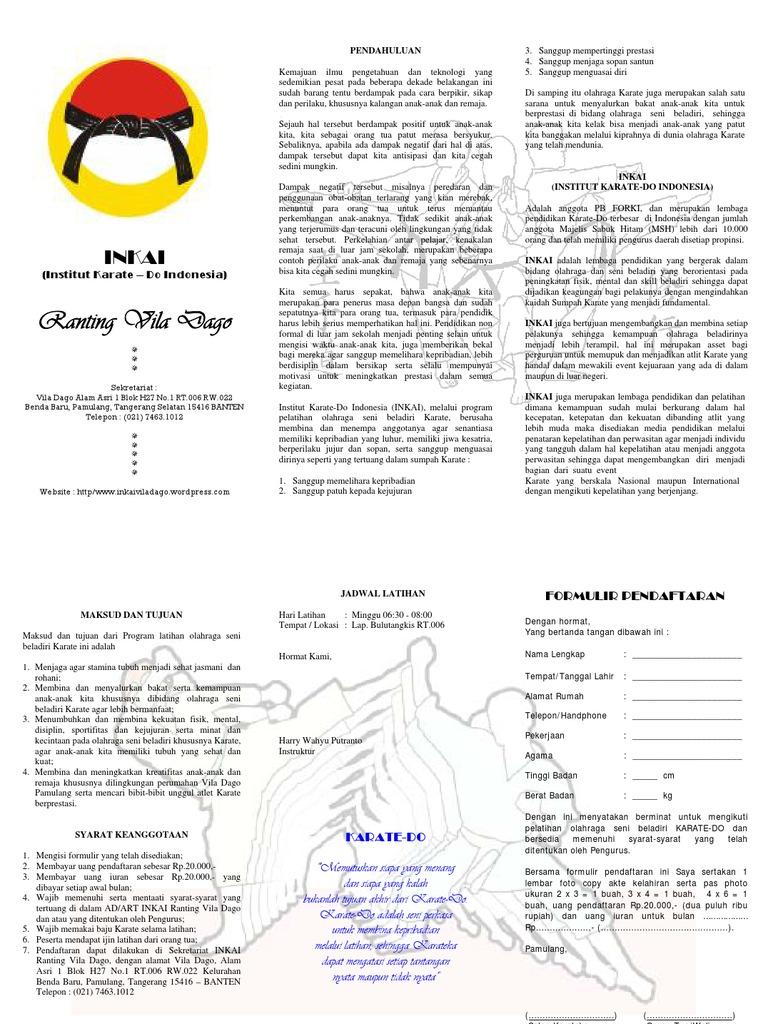 Brosur Formulir Pendaftaran1