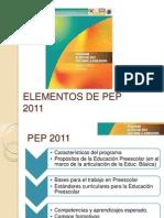 Elementos de Pep 2011