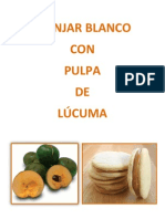 MANJAR BLANCO Coon Pulpa de Lucuma