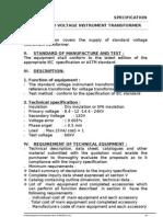 2-Standard Voltage Transformer