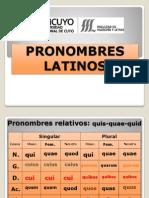 Pronombres Latinos