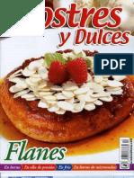 Postres y Dulces - Flanes