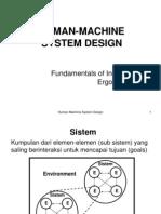8 Man Machine System