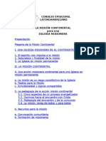 Documento Mision Continental