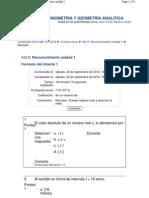 Reconocimiento Unidad 1 Algebra
