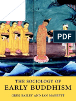 The Sociology of Early Buddhism_BaileyMabbett