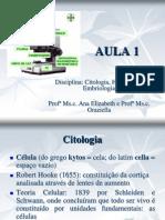 AULA 1 Introdução à Citologia