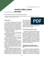 Efectos Del Alcohol Etilico Sobre El Sistema Nervioso