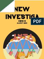 Buletin INVEStIGA edisi IX
