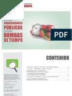 Boletin Conflictos Sociales y Universidades