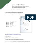 Como Imprimir Planos a Escala Con Autocad