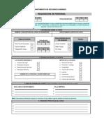Formulario Requisicion de Personal