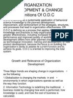 تنمية منظمة ORGANIZATION DEVELOPMENT & CHANGE.(1)