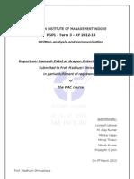 Wac Report _ Ramesh Patel (1)