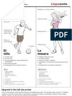 Spanish People and Preferences poster (A4) - Free Download