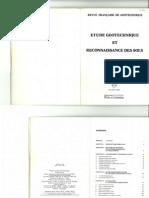 Etude géotechniques et reconnaissances des sols DTU