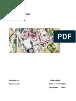 Portfolio Management report