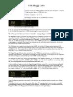 SFD Drive Info