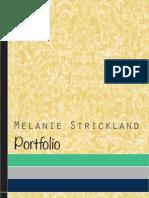 Melanie Strickland Portfolio
