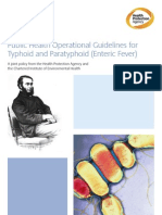 Public Health Operational Guidelines for Enteric Fever_v1.0_Feb 2012
