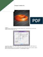 Cara Membuat Logo 3D dengan CorelDraw X6