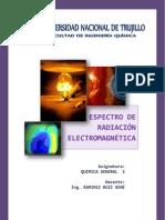 RADIACCION ELECTROMAGNETICA