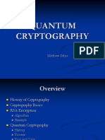 Quantum Cryptography