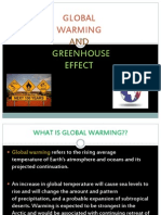 Global Warming and Greenhouse Effect