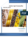 Daily AgriCommodity Market Newsletter 06-04-2013