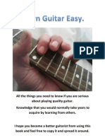 Learn Guitar Easy ~ Fuzzball