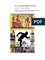 Black History Timeline - From Ancient Egypt Thru Today