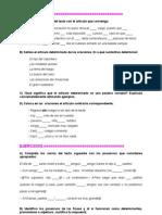 GRAMATICA.- EJERCICIOS DE GRAMATICA ESPAÑOLA.doc