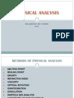 Physical Analysis1