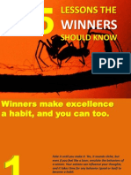 Sucess - 15 Lessons the Winners Know