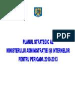 Plan strategic MAI 2010-2013 -13122010