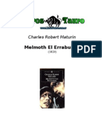 Maturin, Charles Robert - Melmoth El Errabundo