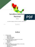 Semaforo Nacional 2013