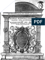Monas Hieroglyphica -El Jeroglifico Monadico, John Dee, 1564