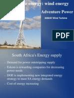 Adventure Power - Wind Energy(Use)