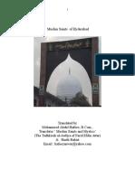Muslim Saints of Hyderabad