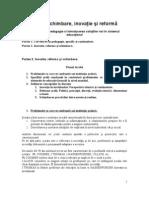 Cursul 6.Inovatie, Reforma Si Schimbarea Practicilor.doc.